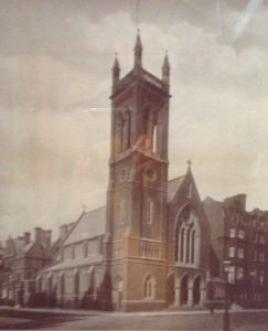 St Columba's Church 1884