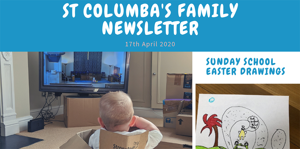 St Columbas Familes Newsletter 17th April 2020