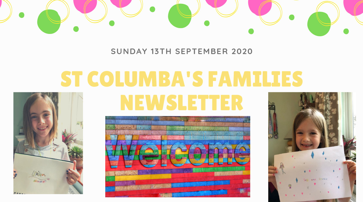 St Columbas Familes Newsletter Sunday 5th July