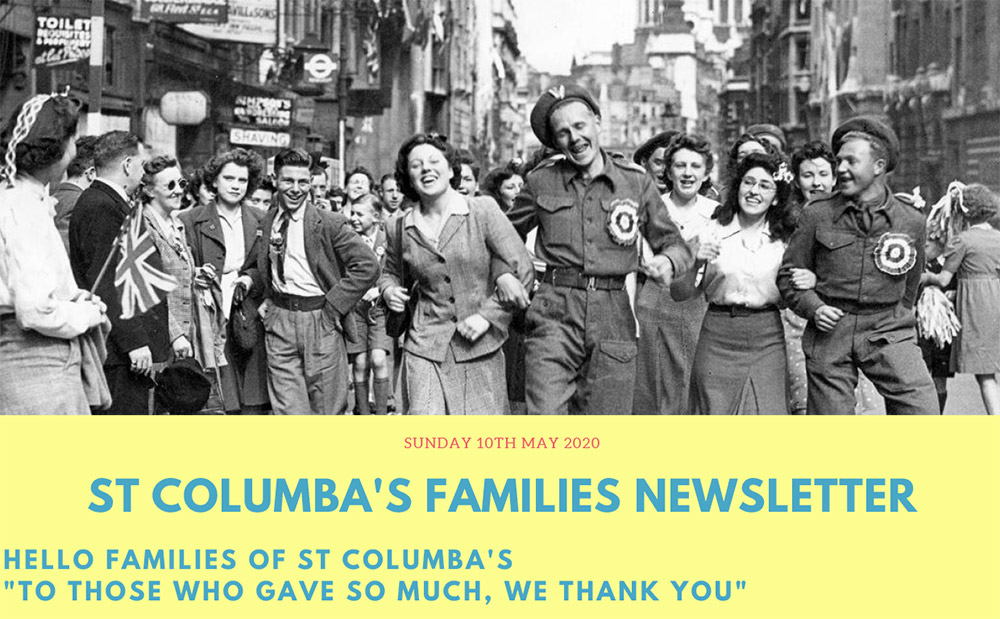 St Columbas Familes Newsletter 26th April 2020