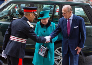 Prince Philip at St Columbas